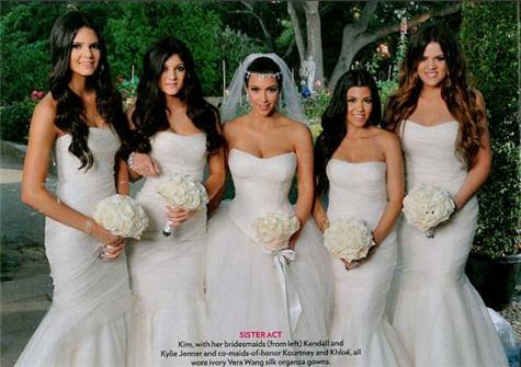Kim Kardashian venčanica