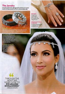 Kim Kardashian mindjuse i prsten