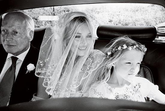 Slike sa svadbe Kejt Mos