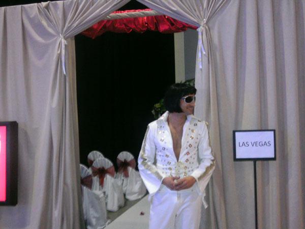 Elvis na LAs Vegas vencanju